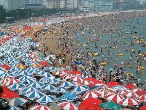 Haeundae Beach in the Summer!