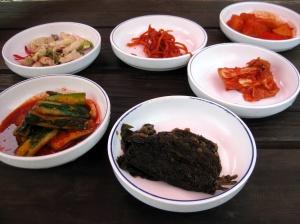 Korean sidedishes