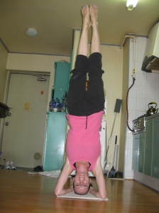 Headstand Pose!